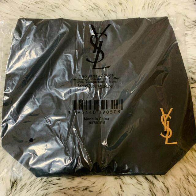 Yves Saint Laurent Beaute(イヴサンローランボーテ)のYSLイヴサンローラン トートバッグ エコバック ブラック レディースのバッグ(トートバッグ)の商品写真
