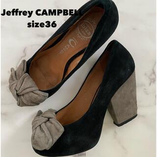 ジェフリーキャンベル(JEFFREY CAMPBELL)のJeffrey CAMPBELL リボンパンプス(ハイヒール/パンプス)