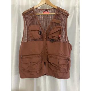 Supreme - Mesh Cargo Vest Mサイズ
