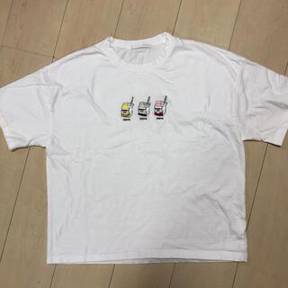 スピンズ(SPINNS)の白半袖Tシャツ(Tシャツ(半袖/袖なし))