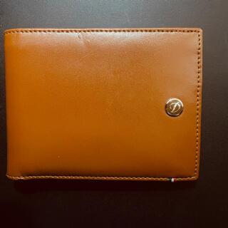 エステーデュポン(S.T. Dupont)のst.Dupont エス・テー・デュポン2つ折り財布 ブラウン(折り財布)
