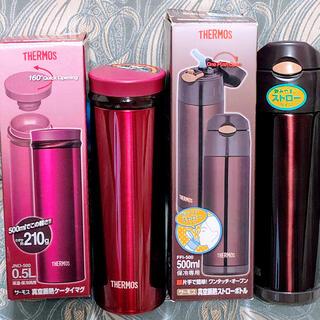 サーモス(THERMOS)のサーモス⭐️真空断熱ケータイマグJNO-500 & ストローボトルFFI-500(弁当用品)