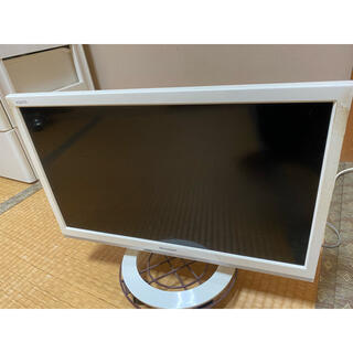 SHARP - SHARP 19型テレビ 白