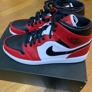 ナイキ(NIKE)のNIKE Air Jorden Mid Chicago Black Toe(スニーカー)