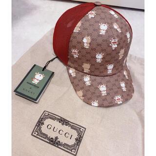 グッチ(Gucci)の新品タグ付き GUCCI 確実正規品 ドラえもんキャップ帽子(キャップ)