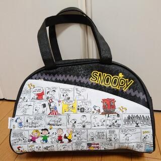 スヌーピー(SNOOPY)の【断捨離】未使用品 美品 スヌーピー ボストンバッグ バッグ 旅行かばん 大容量(ボストンバッグ)
