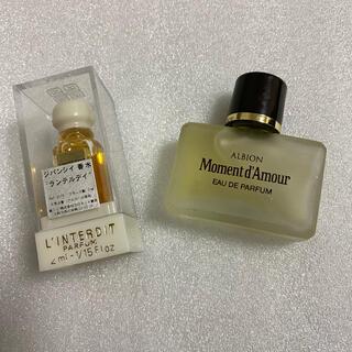 GIVENCHY - アルビオン モマンダムール& ジバンシィ ランテルデイ 香水ミニボトル