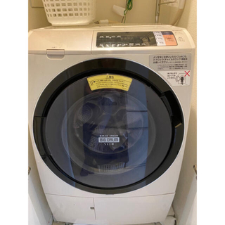 日立 - 一旦停止☆日立ドラム式洗濯機☆BD-SV110AR☆