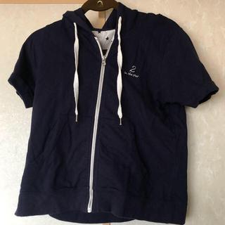 イチナナキュウダブルジー(179/WG)の179/WG 半袖パーカー ネイビー original sporty item(パーカー)