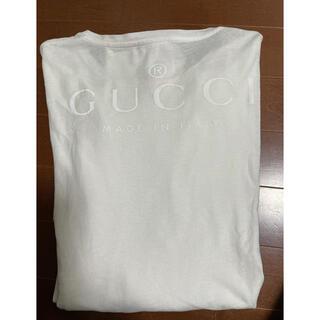 グッチ(Gucci)のGUCCIロゴ長袖Tシャツ(Tシャツ(長袖/七分))