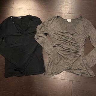 アルマーニ コレツィオーニ(ARMANI COLLEZIONI)のARMANI COLLEZIONI40 AJ34 (Tシャツ(長袖/七分))
