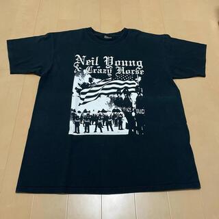 アンビル(Anvil)のニールヤング&クレイジーホースのビンテージTシャツNeil Young(Tシャツ/カットソー(半袖/袖なし))