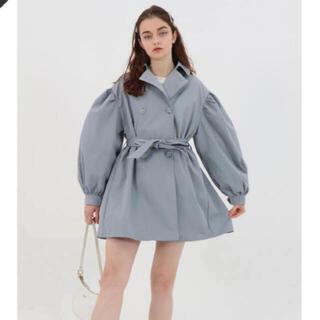 epine エピヌ arm volume mini trench coat