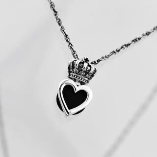 ジャスティンデイビス(Justin Davis)の美品!Justin Daivis  LUV&HATE necklace(ネックレス)