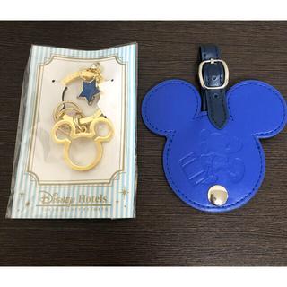 ディズニー(Disney)の非売品 ディズニーのバケーションパッケージ バックチャーム、アメニティの缶(バッグチャーム)