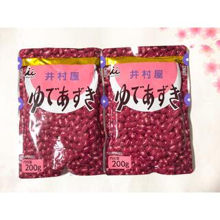 イムラヤ(井村屋)の井村屋ゆであずき 200g 2袋セット(菓子/デザート)