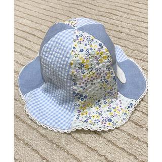 mikihouse - キッズ ベビー 夏用 帽子 48センチ チューリップ型