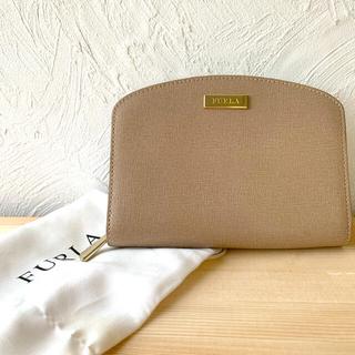 Furla - 美品♡FURLA 二つ折り財布 ベージュ
