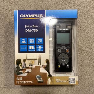 オリンパス(OLYMPUS)のオリンパス OLYMPUS ICレコーダー DM-750BLK  [4GB](その他)