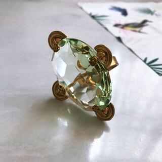 Vivienne Westwood - 美品!viviennewestwood ヴィンテージ ガラスカットリング