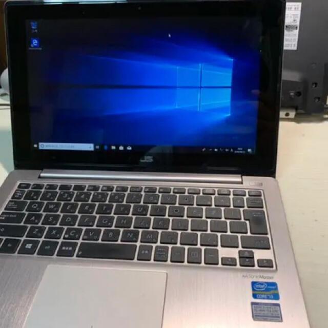 ASUS(エイスース)のX202E asus ノートパソコン SSD240GB スマホ/家電/カメラのPC/タブレット(ノートPC)の商品写真