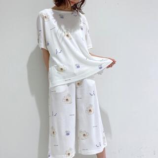 gelato pique - 新品☆ランドリーベアTシャツ&ロングパンツセット☆ホワイト