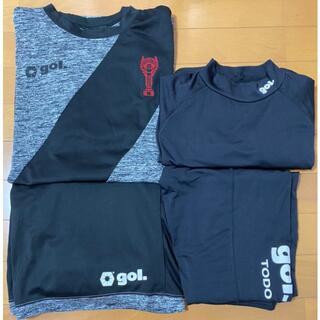 ルース(LUZ)の☆ゴレアドール☆完売・新品☆4点セット☆サイズ・XL☆(Tシャツ/カットソー(半袖/袖なし))
