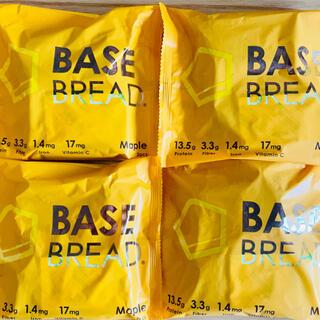 BASE BREAD ベースブレッド 4個!メープル!!(プロテイン)