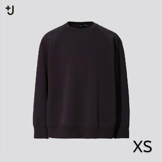 UNIQLO - ユニクロ ジルサンダー ドライスウェットシャツ XS 新品 +J ブラック