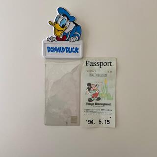 ディズニー(Disney)のドナルドダック ディズニーランド チケットホルダー(遊園地/テーマパーク)