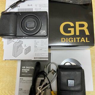 リコー(RICOH)のたいら様専用RICOH GRⅡ 美品ソフトケース付(コンパクトデジタルカメラ)