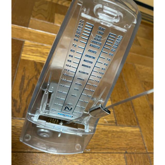 NIKKO(ニッコー)のクリア メトロノーム 楽器の楽器 その他(その他)の商品写真