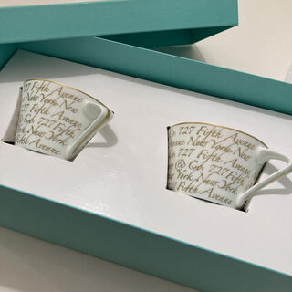 Tiffany & Co. - ティファニー コーヒーカップ