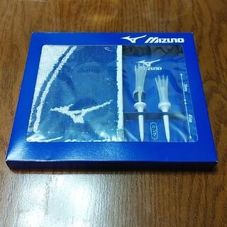 ミズノ(MIZUNO)のミズノ ノベルティグッズ ティー ポケットタオル 未使用 未開封 匿名配送(タオル/バス用品)