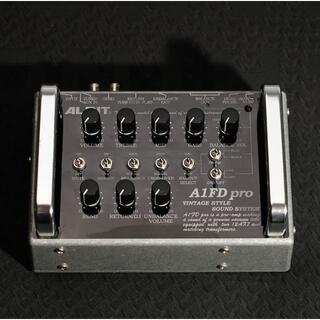 【真空管プリアンプ】ALBIT A1FD pro【美品】(ベースエフェクター)