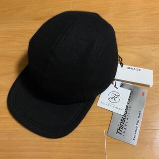 ワンエルディーケーセレクト(1LDK SELECT)のKIJIMA TAKAYUKI スタイリスト私物 カシミヤ フランネルキャップ(キャップ)