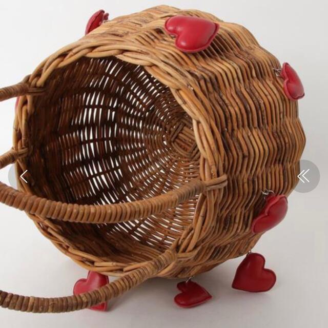 LUDLOW(ラドロー)の新品未使用ラドロー ハートバスケットM カゴバック LUDLOW レディースのバッグ(かごバッグ/ストローバッグ)の商品写真