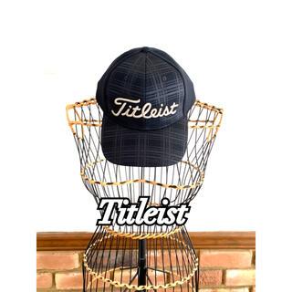 タイトリスト(Titleist)のTitleist タイトリスト golf ゴルフ キャップ ブラック 黒(ウエア)