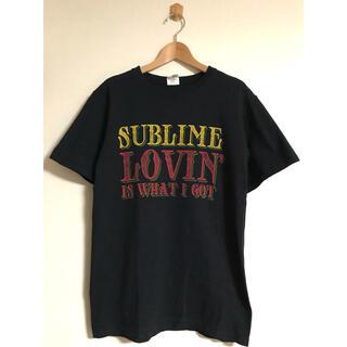 ダブルアールエル(RRL)の美品 ビンテージ SUBLIME サブライム バンド Tシャツ S 黒 xpv (Tシャツ/カットソー(半袖/袖なし))