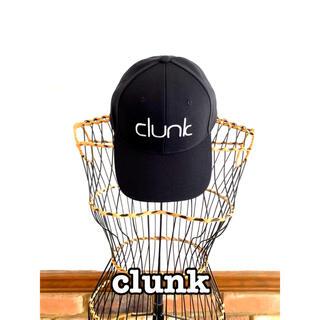 CLUNK クランク golf ゴルフキャップ フランスオシャレブランド 黒(ウエア)