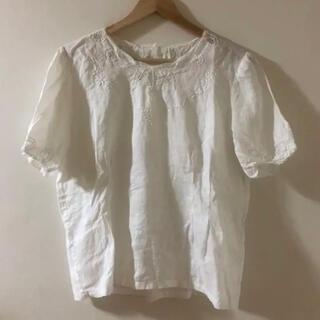 ゴゴシング(GOGOSING)の古着 レースブラウス(Tシャツ(半袖/袖なし))
