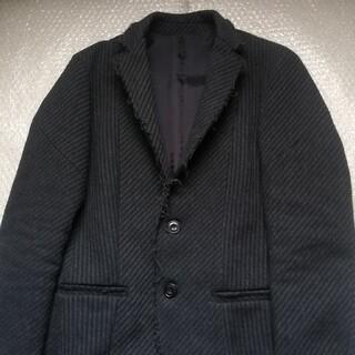 ジュンハシモト(junhashimoto)のジュンハシモト カッティングテーラードジャケット サイズ2 ブラック(テーラードジャケット)