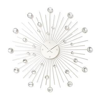 フランフラン(Francfranc)のフランフラン ビジューウォールクロック シルバー(掛時計/柱時計)