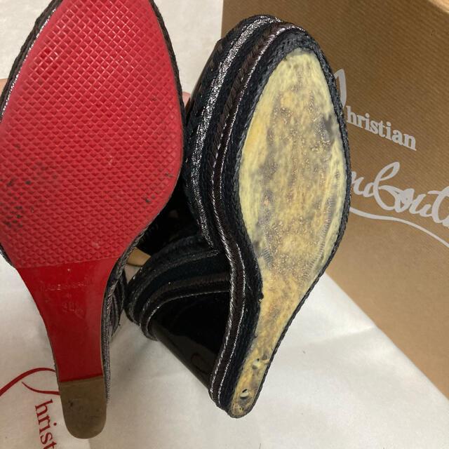 Christian Louboutin(クリスチャンルブタン)の【美品】ルブタン ウェッジソール サンダル レディースの靴/シューズ(サンダル)の商品写真