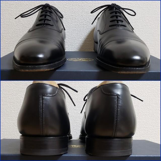 Crockett&Jones(クロケットアンドジョーンズ)の美品3回使用/クロケット&ジョーンズ/AUDLEYオードリー/付属品有6ハーフE メンズの靴/シューズ(ドレス/ビジネス)の商品写真
