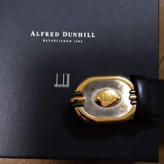 ダンヒル(Dunhill)のダンヒルdunhill ベルト 100サイズ レザー×金属素材 箱あり(ベルト)