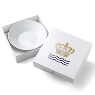 ロイヤルコペンハーゲン(ROYAL COPENHAGEN)のロイヤル コペンハーゲン ホワイトフルーテッド 24cmディープボウル(食器)