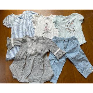 クミキョク(kumikyoku(組曲))の組曲(夏物)子供服5点セット L(120-130)(その他)