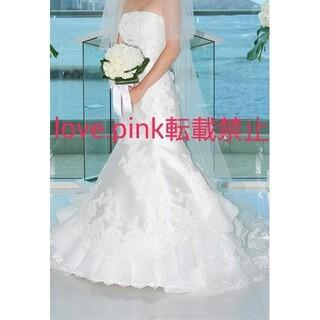 タカミ(TAKAMI)のTAKAMI BRIDAL ロング ベール 花 ビーズ 結婚式 ウエディング(ウェディングドレス)