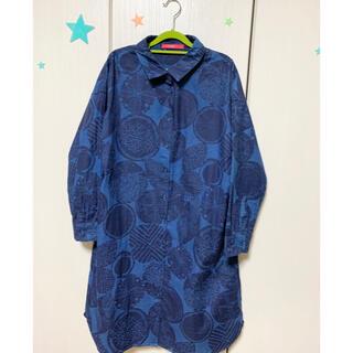 グラニフ(Design Tshirts Store graniph)のグラニフ シャツワンピース (ひざ丈ワンピース)